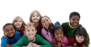 Multicultural-gang-of-children